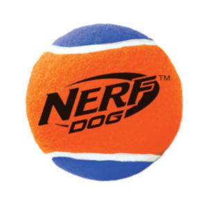 palla tennis in gomma piuma nerf
