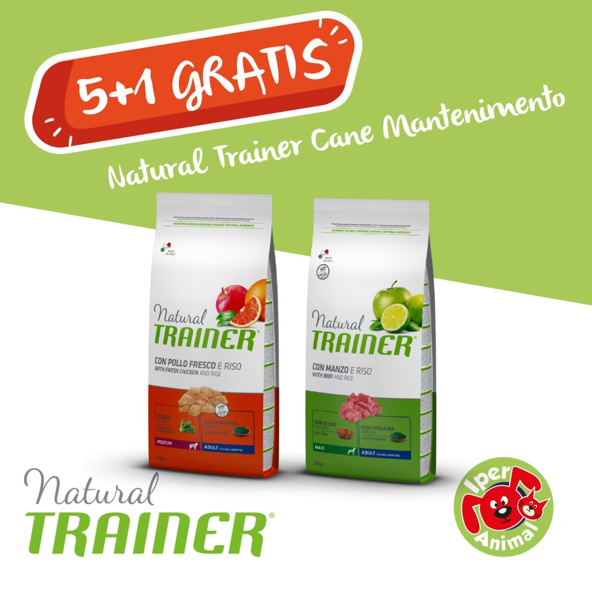 promo natural trainer